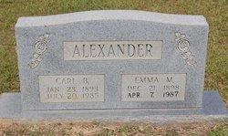 Emma M Alexander