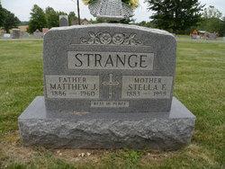 Estella Frances Stella <i>Greenwell</i> Strange