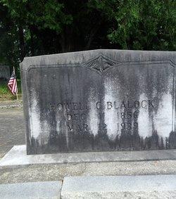 Howell Cobb Blalock