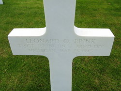 TSgt Leonard O Brink