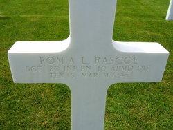 Sgt Romia Lee Rascoe