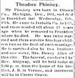 Theodore William Phinisey