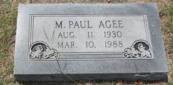 Marion Paul Agee