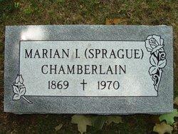 Marian Irene <i>Sprague</i> Chamberlain