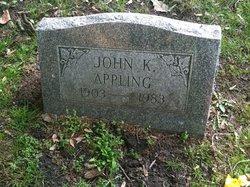 John K Appling