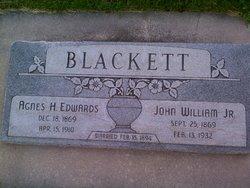 Agnes Hannah <i>Edwards</i> Blackett