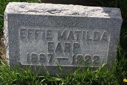 Effie Matilda <i>Earp</i> Clark
