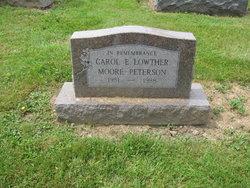 Carol Elizabeth <i>Lowther</i> Peterson