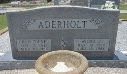 Wilma J <i>Mueller</i> Aderholt