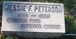 Jessie F Peterson