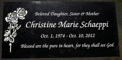 Christine Marie Christie Schaeppi