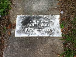 William E Willie Boutwell