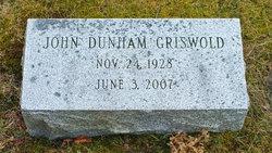 Dr John Dunham Griswold