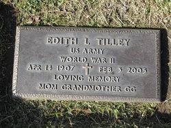 Edith L. <i>Burks</i> Tilley