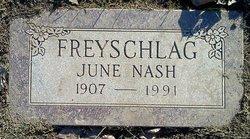 Mary June <i>Nash</i> Freyschlag
