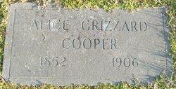 Alice <i>Grizzard</i> Cooper