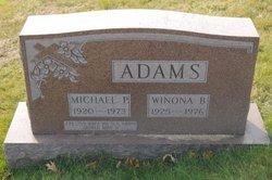 Michael P Adams