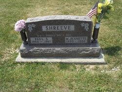Mary Jeanette McKee <i>Theurer</i> Shreeve