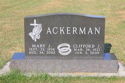 Mary J Ackerman