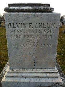 Alvin F. Ahlum