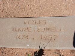 Minnie <i>Thomas</i> Sowell