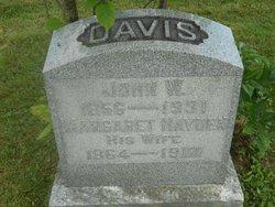 Margaret <i>Hayden</i> Davis