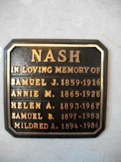 Annie M Nash