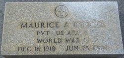 Maurice A. Boone