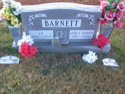 Alma F <i>Derrick</i> Barnett