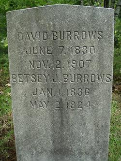 Elizabeth J Betsey <i>Witham</i> Burrows
