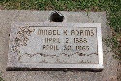 MABEL KATHERINE ADAMS