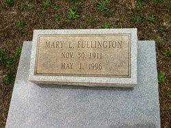 Mary Ellen <i>Lyles</i> Fullington