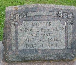 Anna R <i>Kantz</i> Beachler