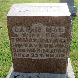 Carrie May <i>Bowen</i> Taylor