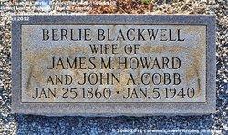 Isabella Beesley Berlie <i>Blackwell</i> Cobb