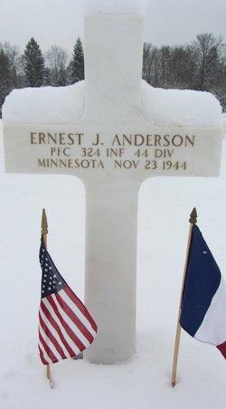 PFC Ernest J Anderson