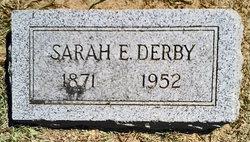 Sarah Elizabeth <i>Warhurst</i> Derby
