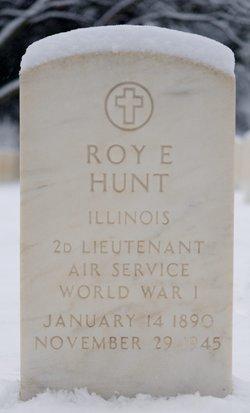 Roy E Hunt