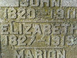 Elizabeth <i>Chapman</i> Bemenderfer