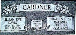 Lilian Eve <i>Davis</i> Gardner