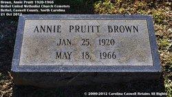 Annie <i>Pruitt</i> Brown