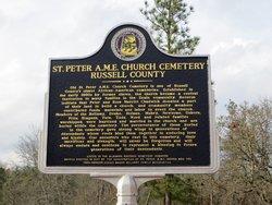 Saint Peter AME Church Cemetery