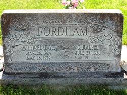 Mildred Faye <i>Robinson</i> Fordham