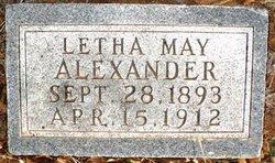 Letha May Alexander