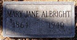 Mary Jane Albright