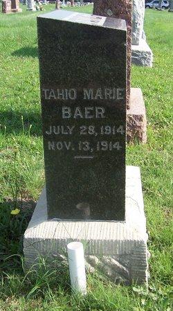 Tahio Marie Baer