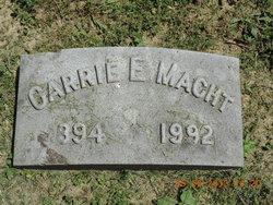 Carrie E Macht