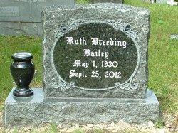 Ruth <i>Breeding</i> Bailey