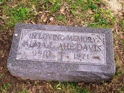 Alma Ahe Davis