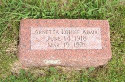 Arnetta Louise Adair